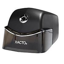 X-ACTO; Quiet Electric Pencil Sharpener, Black