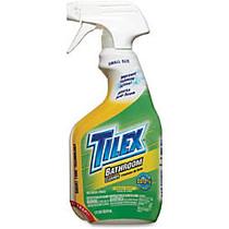 Tilex Bathroom Cleaner - Spray - 0.13 gal (16 fl oz) - Lemon Scent - 1 Each - White