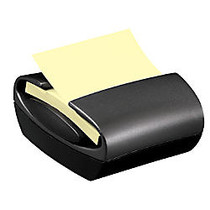 Post-it; Professional Series Pop-up Note Dispenser For 3 inch; x 3 inch; Notes, Black