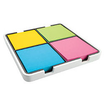 Post-it; Super Sticky Notes — Evernote; Collection, 3 inch; x 3 inch;, Assorted Colors, 90 Sheets Per Pad, 4 Pads Per Pack