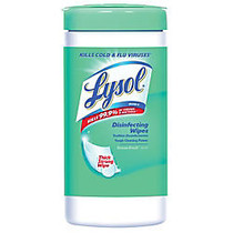 Lysol; Disinfecting Wipes, Ocean Fresh; Scent, Tub Of 80