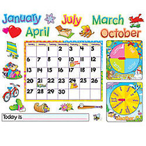 Trend; Monthly Calendar With Cling Bulletin Board Set