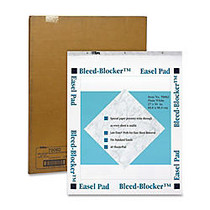 TOPS; Bleed Blocker™ 30% Recycled Easel Pads, 27 inch; x 34 inch;, 40 Sheets, Carton Of 2