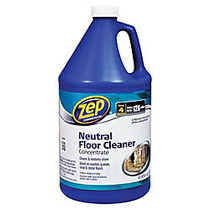 Zep Concentrated Neutral Floor Cleaner, 128 Oz
