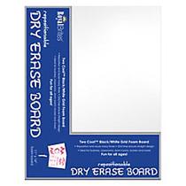 Royal Brites 2 Cool Foam Board, Dry-Erase, 11 inch; x 14 inch;, Black/White
