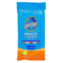 Pledge; Multi-Surface Clean & Dust Wipes, Box Of 25