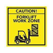 Full-Color Floor Graphic, Square, 12 inch; x 12 inch;