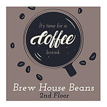 Full-Color Floor Graphic, Square, 24 inch; x 24 inch;