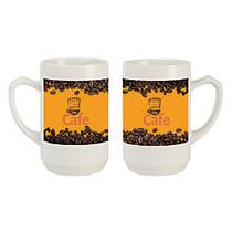 Thumb Grip Ceramic Mug, 12 Oz