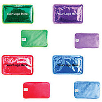 Hot/Cold Pack With Plush Backing, 4 3/4 inch;H x 7 1/2 inch;W x 3/4 inch;D
