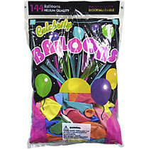 Tablemate Assorted Latex Balloons, 12 inch;, Assorted, Pack of 144