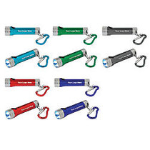 Well Lite Deluxe 3-LED Flashlight Keychain With Batteries, 3/4 inch; x 2 3/4 inch;
