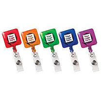 Square Secure A Badge Reel