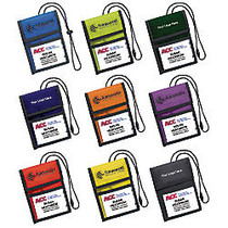 Trade Show Badge Holder, 6 9/16 inch; x 4 13/16 inch;