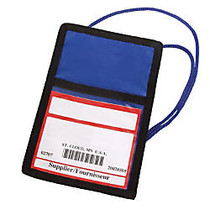 Trade Show Large Badge Pouch, 7 inch; x 4 3/4 inch;