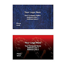 Full-Color Digitally-Printed Magnet Business Card, 2 inch;H x 3 1/2 inch;W
