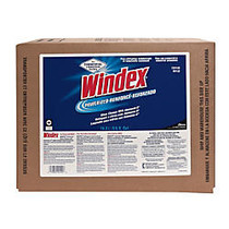 Windex Powerized Formula Glass And Surface Cleaner, 5-Gallon Bag-In-Box Dispenser