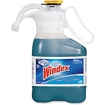 Windex Ultra Concentrated Glass Cleaner - Concentrate Liquid Solution - 0.37 gal (47.34 fl oz) - 2 / Carton - Blue