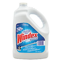 Windex; Powerized Glass Cleaner With AMMONIA-D;, 1 Gallon Refill