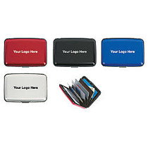 Aluminum RFID Blocking Card Case