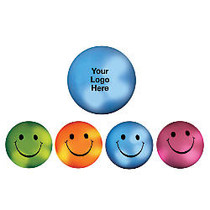 Mood Smiley Face Stress Ball, 2 1/2 inch;D