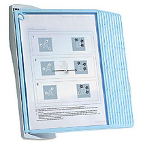 Sherpa Wall Reference System, 10 Panels, 8 1/2 inch; x 11 inch;, Clear/Gray/Light Blue