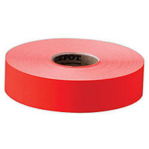 Office Wagon; Brand General Purpose Adhesive Pricemarking Labels, Flourescent Red, 2500 Labels/Roll, Pack Of 1