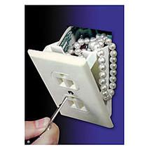 Trademark Global Hidden Wall Safe, 0.65 Lb, 0.02 Cu Ft, White