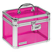 Vaultz; Personal Storage Box, 7 3/4 inch;H x 10 inch;W x 7 1/4 inch;D, Assorted Colors (No Color Choice)