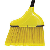 Wilen Complete Angle Broom, Small, 48 inch; Handle, Black/Yellow, Case Of 12