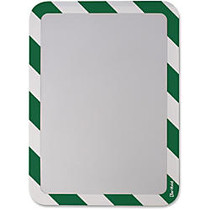 Tarifold Magneto Sign Frames with Inserts - 2 / Pack - Green, White