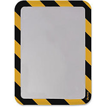 Tarifold Magneto Sign Frames with Inserts - 2 / Pack - Yellow, Black
