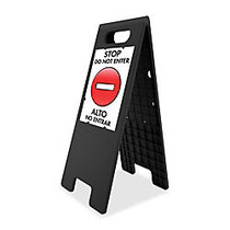 U.S. Stamp & Sign Double-Sided Customizable Tent Sign, 25 1/2 inch;H x 10 1/2 inch;W