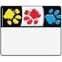 Trend Bright and Welcoming Paw Print Name Tags - 2.50 inch; Length x 3 inch; Width - 36 / Pack - Assorted