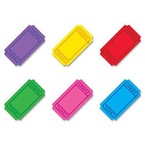 Trend Classic Accents Mini Winning Tickets Pack - Precut - 3 inch; Length - Multicolor - 72 / Set