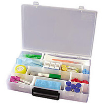 Unimed Infinite Divider Box With Handle, 9 1/2 inch;H x 13 1/5 inch;W x 2 1/2 inch;D