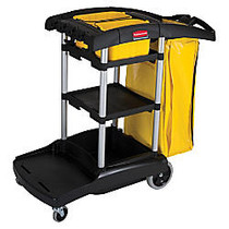 Rubbermaid; High-Capacity Cleaning Cart