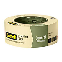 Scotch; Greener Masking Tape For Basic Painting, 3 inch; Core, 2 inch; x 60 Yd., Pistachio