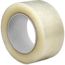 Sparco 2.5mil Hot-melt Sealing Tape - 2 inch; Width x 55 yd Length - Long Lasting, Easy Unwind - 36 / Carton - Clear
