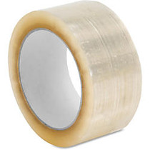 Sparco 3.0mil Hot-melt Sealing Tape - 2 inch; Width x 55 yd Length - Long Lasting, Easy Unwind - 36 / Carton - Clear