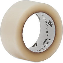 Sparco Heavy Duty Packaging/Sealing Tape - 2 inch; Width x 110 yd Length - 3 inch; Core - 1.60 mil - Transparent, Hot-melt - 36 / Carton - Clear