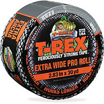 T-REX Extra Wide Duct Tape - 2.83 inch; Width x 90 ft Length - Polyethylene, Cloth - 1 Roll - Silver