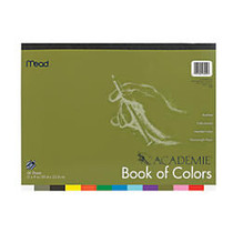 Academie; Book Of Colors, 9 inch; x 12 inch;, Assorted Colors, Pack Of 48 Sheets
