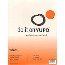 Yupo Watercolor Pads, 9 inch; x 12 inch;, 10 Sheets, Pack Of 2