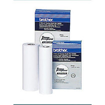 Brother; High Sensitivity ThermaPlus Fax Paper, 1 inch; Core, 8 1/2 inch; x 98', Box Of 2 Rolls