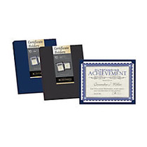 Southworth; Certificate Holders, Navy Blue, Pack Of 10