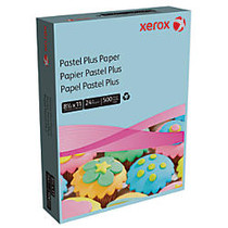 Xerox; Multipurpose Pastel Plus Paper, Letter Size Paper, 24 Lb, 30% Recycled, Blue, Ream Of 500 Sheets