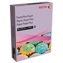 Xerox; Multipurpose Pastel Plus Paper, Letter Size Paper, 24 Lb, 30% Recycled, Lilac, Ream Of 500 Sheets