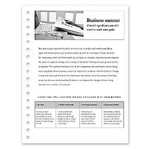 Xerox; Vertical Perforated Paper, 1 Part, 20 Lb, 9 inch; x 11 inch;, Micro-Perforation, White, Box Of 5,000 Sheets