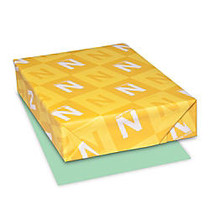 Neenah Heavyweight Exact; Index Card Stock, 8 1/2 inch; x 11 inch;, 90 Lb., Green, Pack Of 250 Sheets